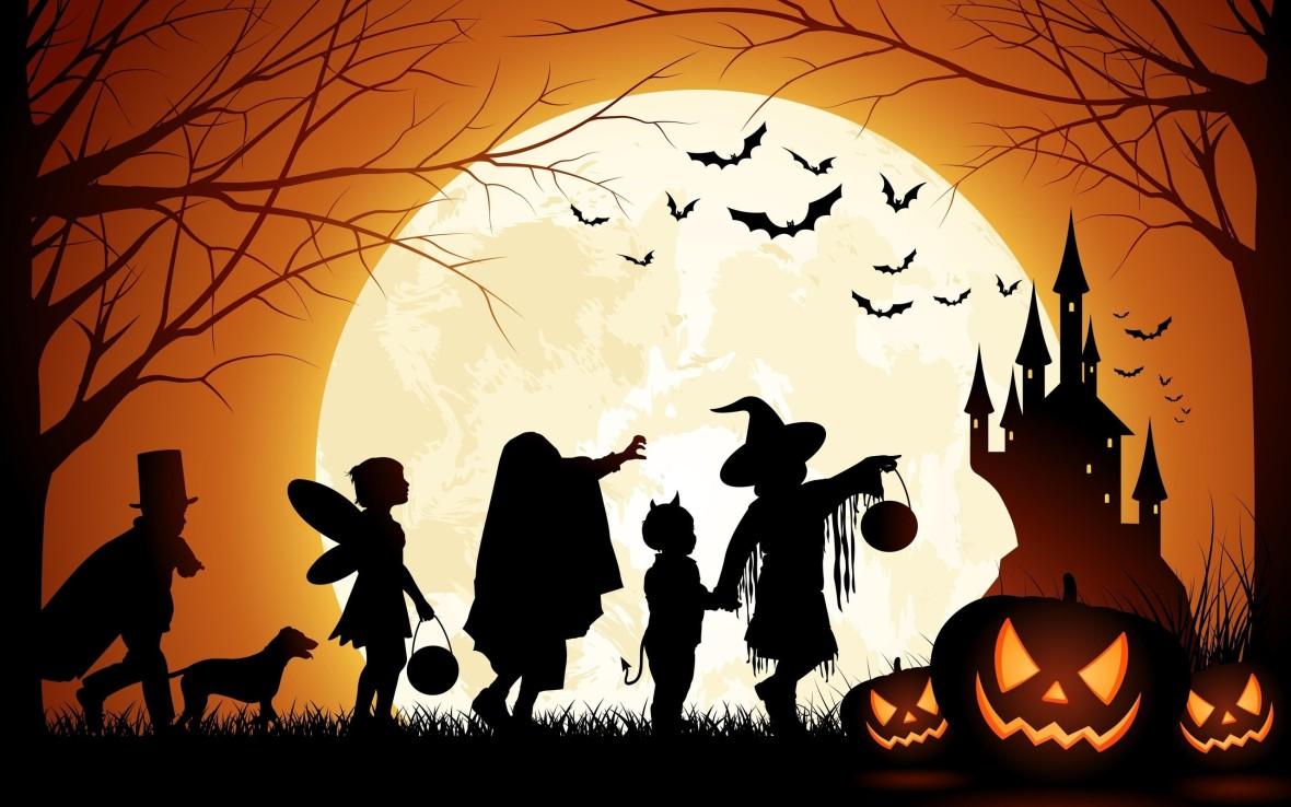 halloween_pumpkin_castle_moon_bats_kids-2560x1600