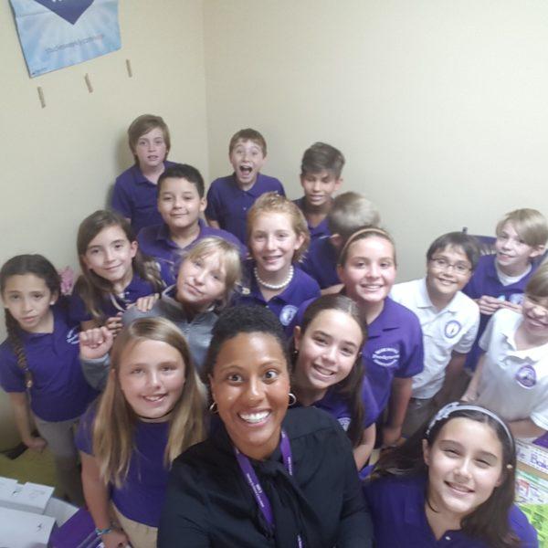 fifth classroom selfie