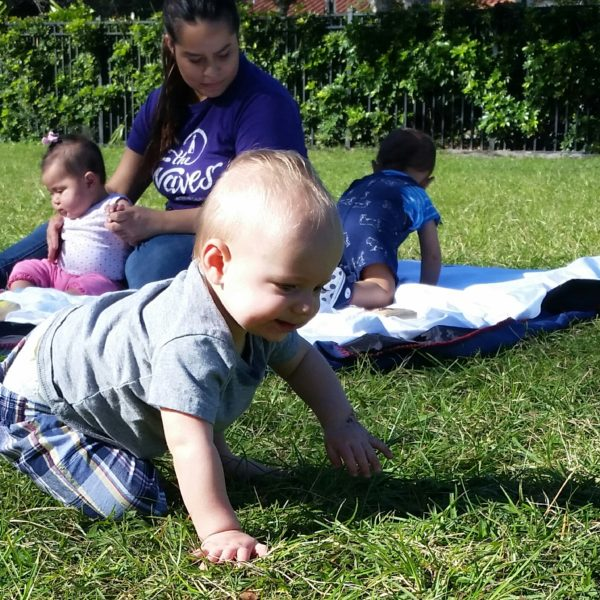 infants outside